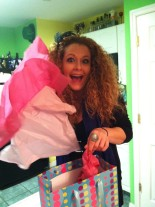 Happy Birthday to ME! Opening my presents from my best friend, Kacie!