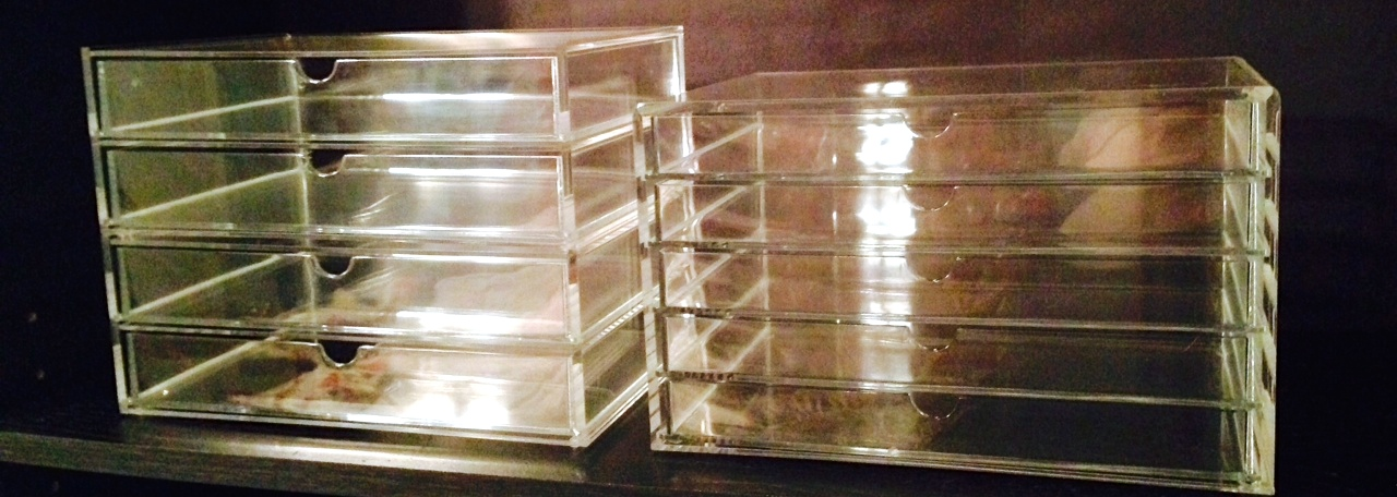 acrylic drawers bed bath and beyond 1