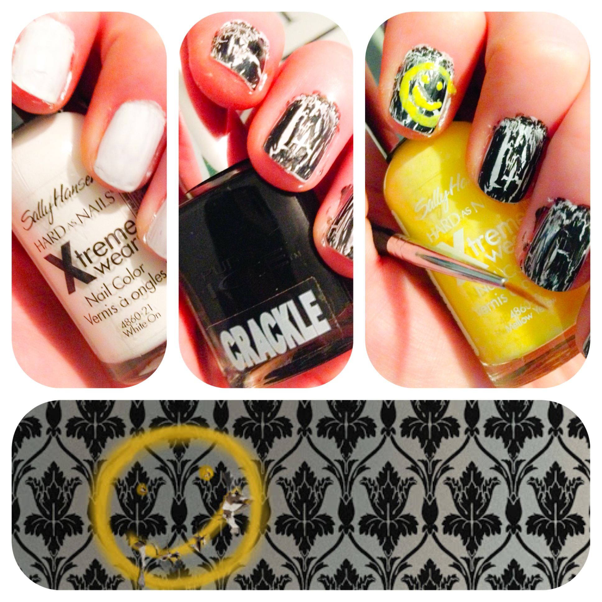 DIY :: Sherlock \'Bored\' Nails | Ginger Kate